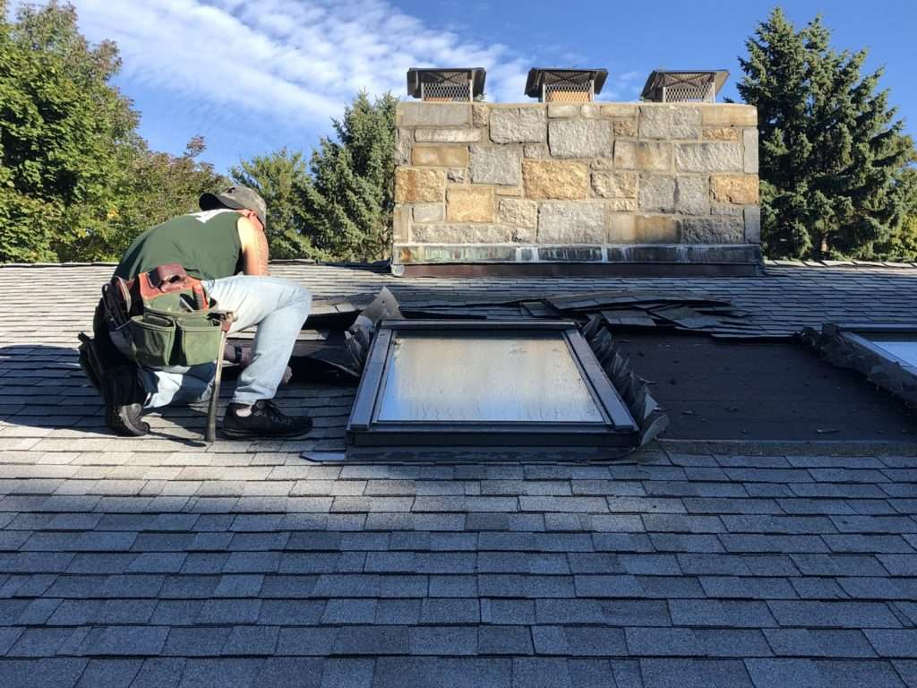 Replacement of existing skylights